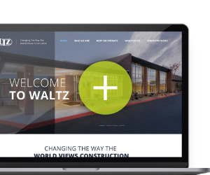 Construction Contractor's website