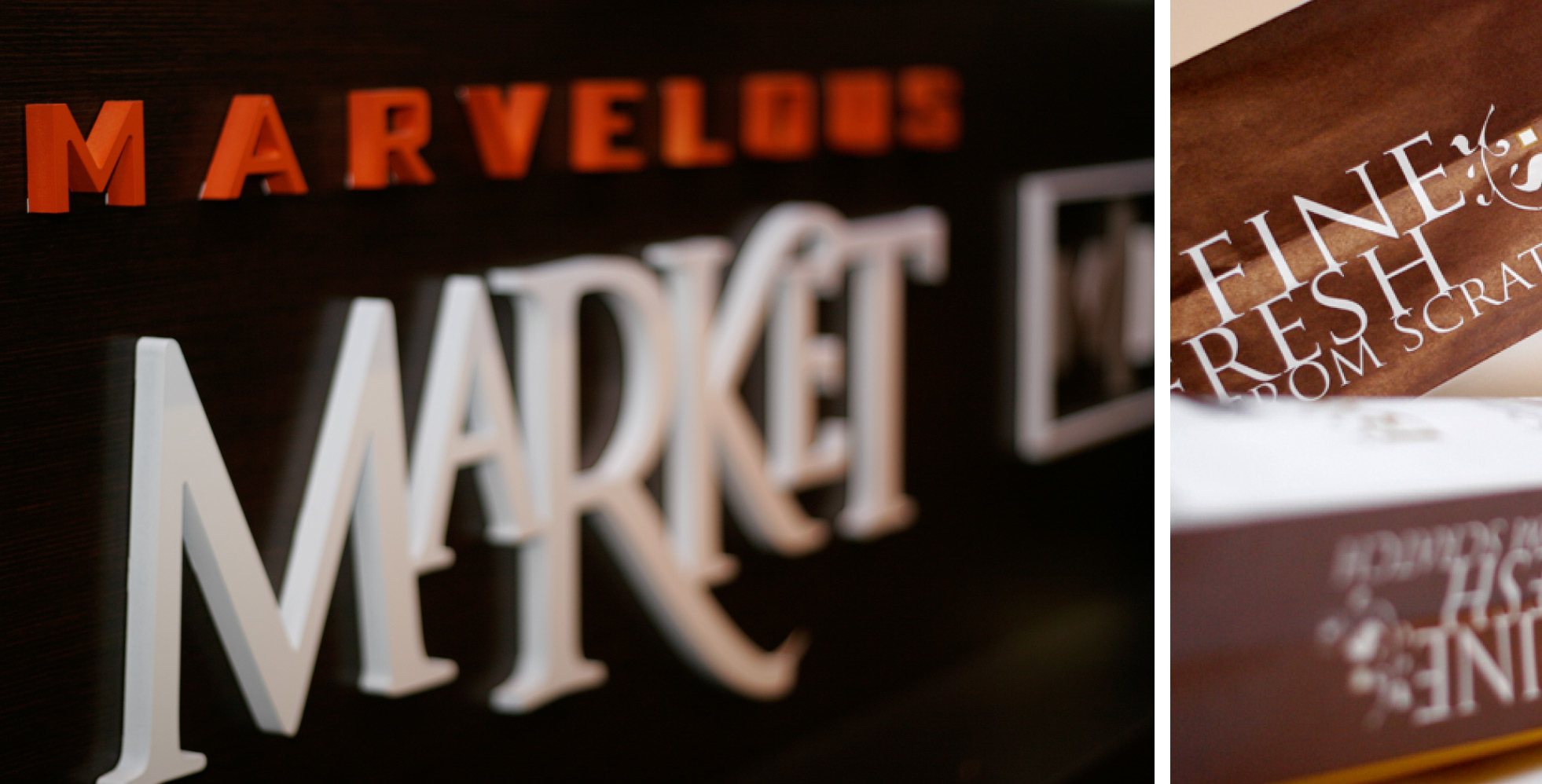 Maravelous Market Bakery Signage Design