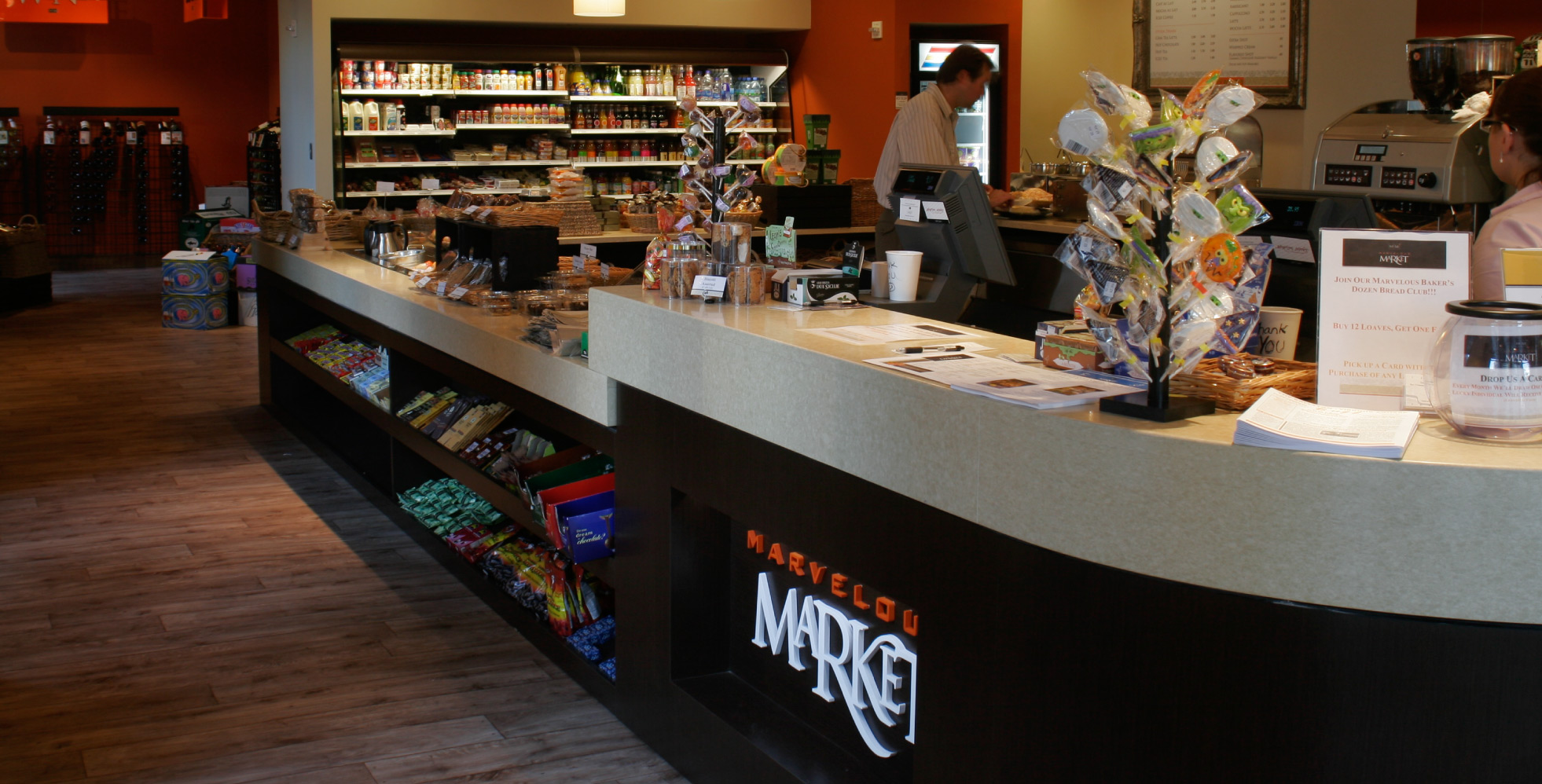 Maravelous Market Bakery and Store Design